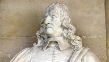 Photo of bust at Versailles, posted by Wally Gobetz https://www.flickr.com/photos/wallyg/1532378233